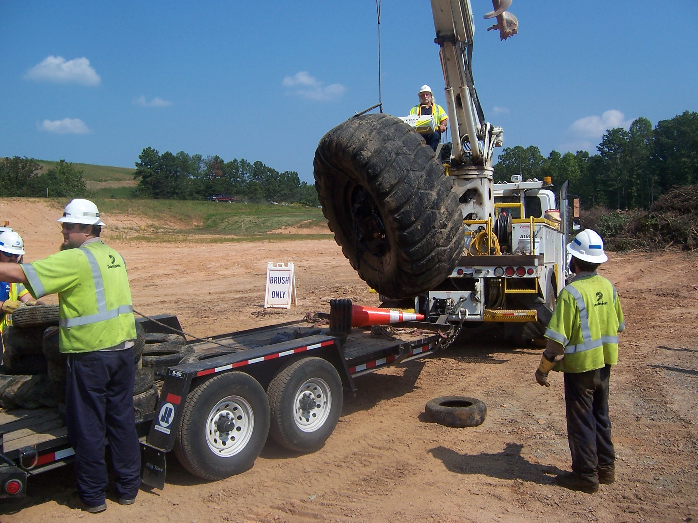 Heavy Equipment and Willing Partners Make a Difference